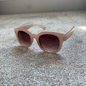 Jones New York Light Pink Sunglasses